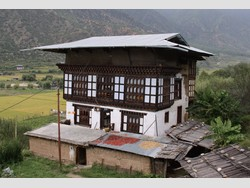 Traditional Bhoutanese Houses